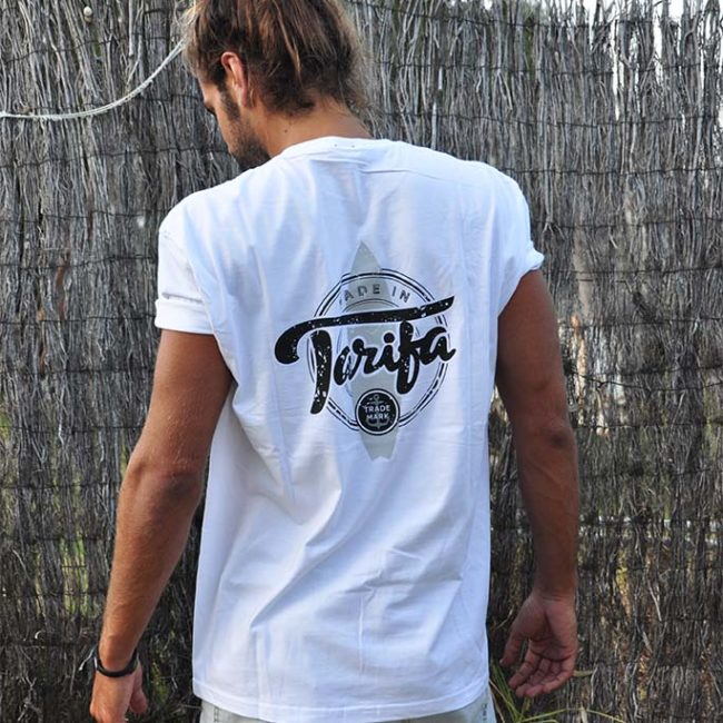 Ofertas CAMISETA LOGO BLANCA MADE IN TARIFA 1