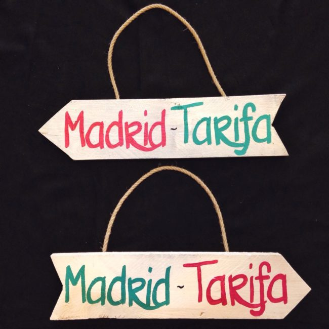 CARTEL MADE IN TARIFA MADRID