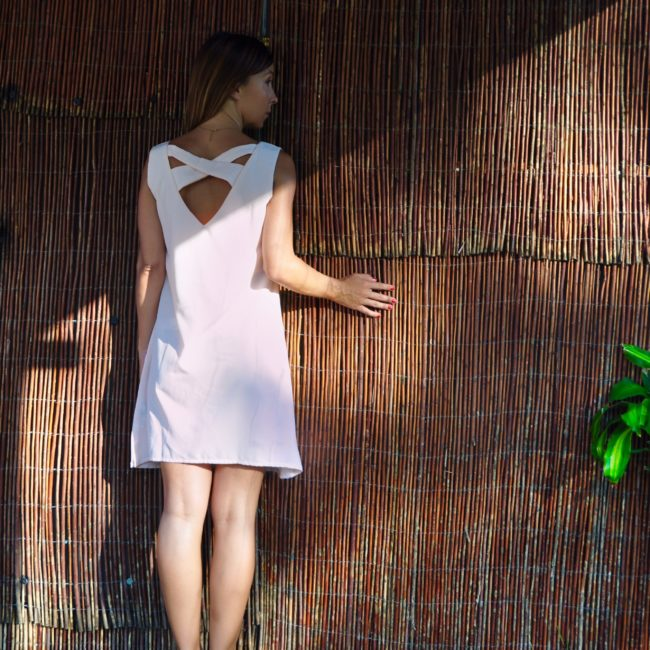 VESTIDO SAIGON ROSA MADE IN TARIFA