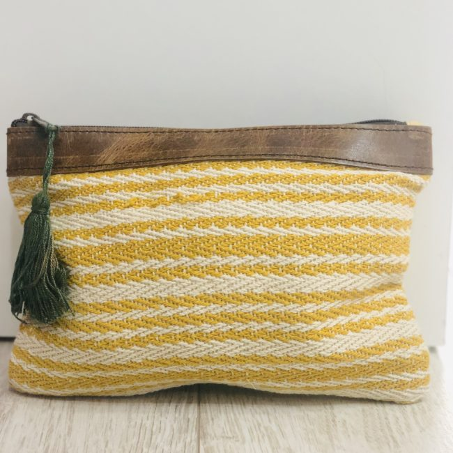 BOLSO PUOCH HANGLOOSE AMARILLO MADE IN TARIFA